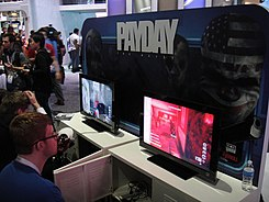 E3 2011 - Payday- the Heist (Sony Online Entertainment) (5822673068).jpg