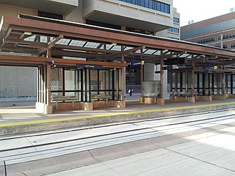 East Bank station - Image: East Bank Station Central Corridor Light Rail Minneapolis
