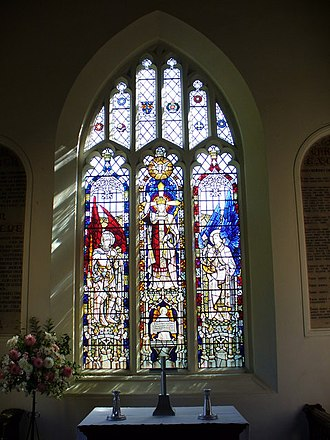 Archibald Keightley Nicholson - East Window, St Peter and St Paul, Ewhurst, Surrey