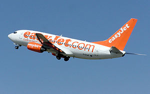easyJet, one of the no-frills carriers that ha...