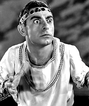 Roman Scandals - Eddie Cantor as Oedipus in Roman Scandals