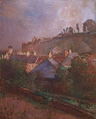 Houses at the Foot of a Cliff (Saint-Valéry-sur-Somme)