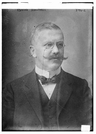 Edmund Schulthess - Image: Edmund Schulthess (2 March 1868, Villnachern 22 April 1944, Bern) circa 1916
