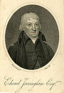 Edward Jerningham English poet and playwright