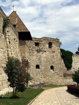 Eger - The stone fortress was built at that time