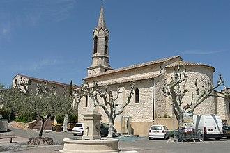 Saint-Martin-d'Ardèche - Image: Eglise à Saint Martin d'Ardèche