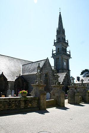 Guissény - The church in Guissény