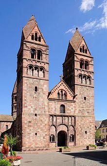 Церковь св. Веры (église Saint-Foy)