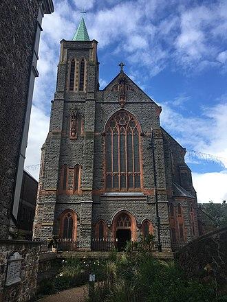 Cardiff Metropolitan Cathedral - Image: Eglwys Gadeiriol Caerdydd