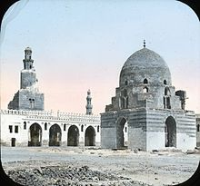 Egypt, Mosque of Tulun, Exterior, Cairo.jpg