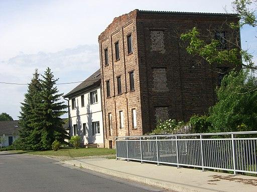 Ehemalige Wassermühle in Holzdorf