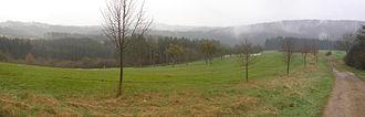 South Eifel - Image: Eifel Kylltal Speicher
