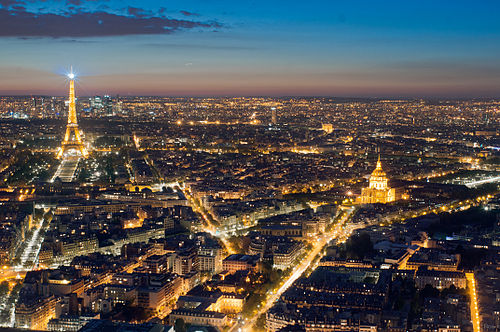 Eiffel Tower from the Tour Montparnasse, 1 May 2012 N2.jpg