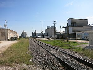 El Campo, Texas - Image: El Campo TX Silos
