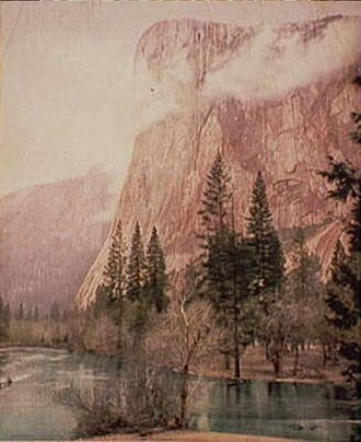 El Capitan - William Henry Jackson's 1899 photograph of El Capitan