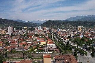 Elbasan Municipality in Albania