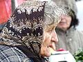 Elderly Woman in Market - Belgrade - Serbia (15616229359).jpg