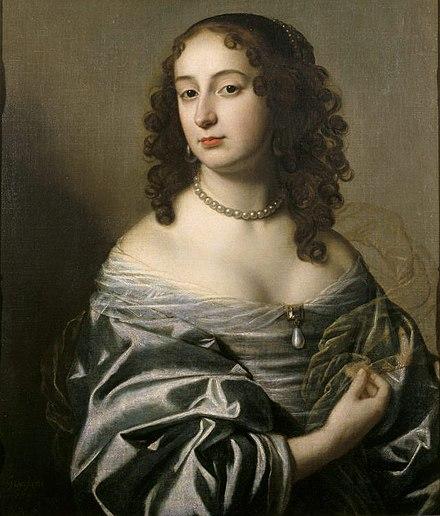 Sophie von der Pfalz, Porträt aus dem Jahr 1650