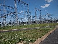 Elektrownia Wodna Żarnowiec - stacja elektroenergetyczna - panoramio.jpg