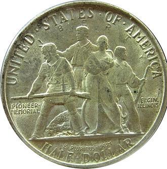 Trygve Rovelstad - Elgin Centennial half dollar