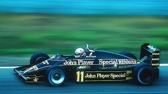 1983 Dutch Grand Prix - Elio de Angelis retired early due to an electrical failure.
