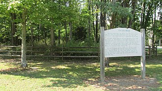 National Register of Historic Places listings in Clermont County, Ohio - Image: Elk Lick Mound