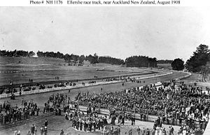 Ellerslie, New Zealand -  Ellerslie Racecourse, 1908
