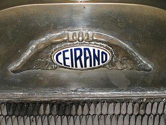 Ceirano Fabbrica Automobili - 1924 Ceirano badge