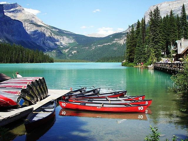 Resultado de imagen de emerald lake