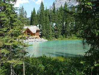 Emerald Lake (British Columbia) - The conference centre at Emerald Lake