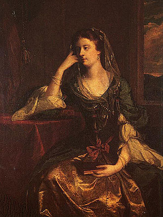 Emily FitzGerald, Duchess of Leinster - The Duchess of Leinster. 1753 portrait by Sir Joshua Reynolds.