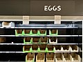 Empty shelves at Coles during the COVID-19 pandemic in Brisbane, Australia.jpg