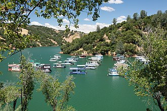 Yuba County, California - Image: Englebright Lake (6217894829)