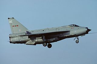 English Electric Lightning interceptor aircraft family