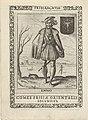 Enno I, tweede graaf van Oost-Friesland Enno. Comes Frisiae Orientalis Secundus (titel op object) Koningen en Potestaten van Friesland (serietitel) Frisia, sev, de Viris (serietitel op object), RP-P-OB-50.604.jpg