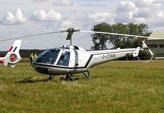 Enstrom Helicopter Corporation - Enstrom 280FX Shark, an aerodynamically restyled Enstrom F-28 for the corporate market.