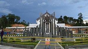 Indonesia–Malaysia border - Entikong border checkpoint in Sanggau, West Kalimantan
