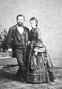 Erkel László és felesége.jpg