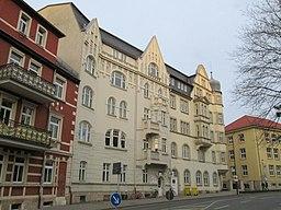 Ernst-Haeckel-Platz in Jena