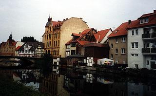 Eschwege Place in Hesse, Germany