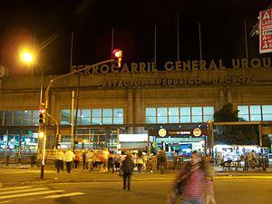 Federico Lacroze railway station - Image: Estación Federico Lacroze