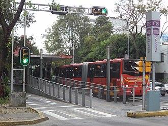 Escandón - Escandón Metrobus station