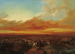 Lucas Velázquez: Arab Caravans Arriving at the Coast