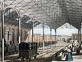 Euston Station showing wrought iron roof of 1837.jpg