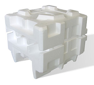 Polystyrene - Expanded polystyrene packaging