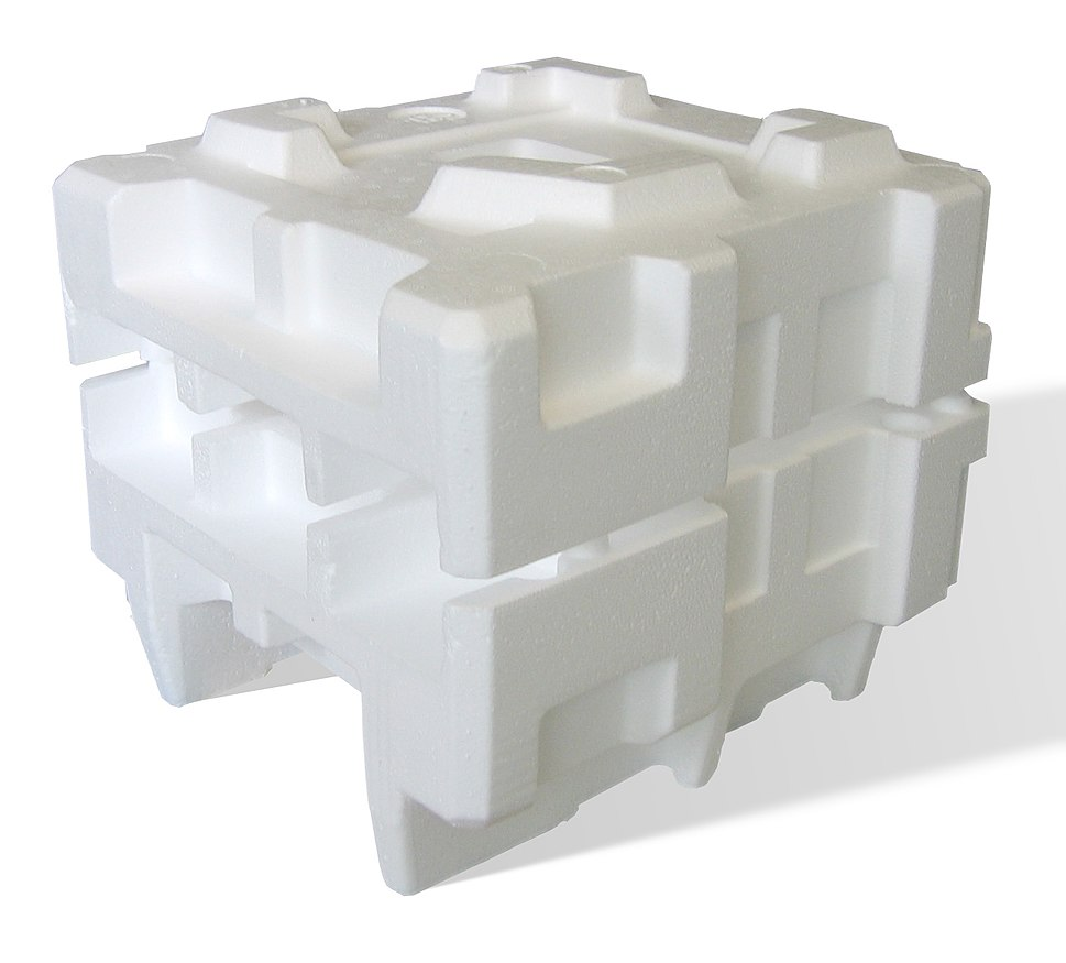 Expanded polystyrene foam dunnage