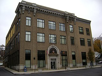 The Express-Times - The former Express-Times building in Easton, Pennsylvania.