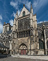 Exterior View of South Transept, Troyes Cathedral 20140509 1.jpg