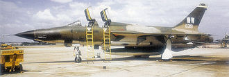 Pacific Air Forces - Republic F-105F/G-1-RE Thunderchief, AF Ser. No. 63-8319 of Det 1, 561st Tactical Fighter (Wild Weasel) Squadron, Korat Royal Thai Air Force Base