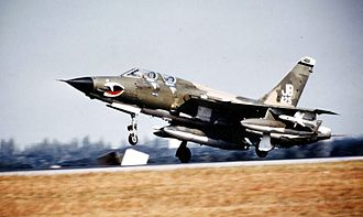 17th Weapons Squadron - 17th Wild Weasel Squadron F-105G landing at Korat RTAFB